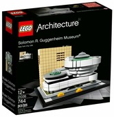 Конструктор LEGO Architecture 21035 Музей Соломона Гуггенхайма