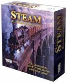 Настольная игра HOBBY WORLD Steam. Железнодорожный магнат