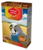 Родные корма Корм С орехами для волнистых попугаев