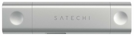 Кардридер Satechi Aluminum Type-C USB 3.0 and Micro/SD Card Reader for Type-C