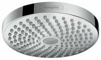 Лейка верхнего душа встраиваемый hansgrohe Croma Select S 180 2jet 26522000 хром