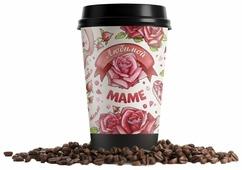 Кофе молотый в стакане Всякие штуки Любимой маме