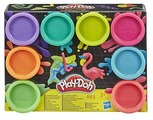 Масса для лепки Play-Doh Набор Neon 8 цветов (E5063/E5044)