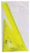 СТАММ Набор чертежный большой Neon Crystal 4 предмета (НГ16)