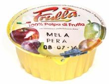 Пюре Natura Nuova из яблока и груш без сахара, дой-пак 400 г