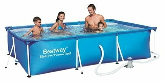 Бассейн Bestway Deluxe Splash Frame 56078/56411