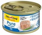 Корм для собак GimDog Pure Delight тунец с рисом 85г (для мелких пород)