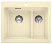 Врезная кухонная мойка Blanco Pleon 6 Split 61.5х51см искусственный гранит