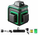 Лазерный уровень ADA instruments CUBE 3-360 GREEN PROFESSIONAL EDITION (А00573) со штативом
