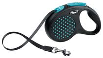 Поводок-рулетка для собак Flexi Design S ленточный