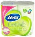 Туалетная бумага Zewa Deluxe Ромашка трёхслойная
