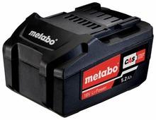 Аккумуляторный блок Metabo 625592000 18 В 5.2 А·ч