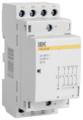 Модульный контактор IEK MKK20-40-40 40А