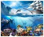 Фотообои флизелиновые Design Studio 3D Морские глубины 3х2.5м