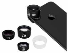 Набор объективов MOMAX X-Lens Pro 4 in 1 Premium Lens Kit