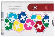 Швейцарская карта VICTORINOX SwissCard Classic VX colors se (0.7107.841) (10 функций)