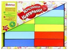 Кубики Alatoys Кирпичики НКП1201