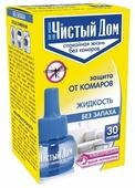 Жидкость для фумигатора Чистый дом от комаров без запаха