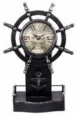 Часы настольные Русские подарки Штурвал