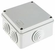 Распределительная коробка Ecoplast JBS100 наружный монтаж 100x100 мм