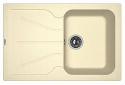 Врезная кухонная мойка FLORENTINA Гаттинара-780 78х51см искусственный гранит