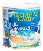 Эльфа Золотой лён Каша льняная Вишня, 400 г