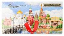 Шоколад Россия - Щедрая душа! Московский Кремль горький