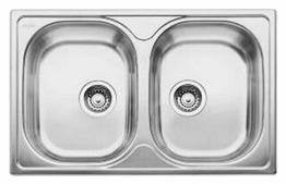 Врезная кухонная мойка Blanco Tipo 8 Compact 78х50см нержавеющая сталь