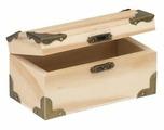 GLOREX Деревянная заготовка для декорирования Сундучок маленький 62003351