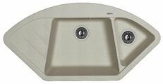 Врезная кухонная мойка FLORENTINA Веста FS 100.6х51см искусственный гранит