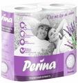 Туалетная бумага Perina Premium Lavender белая трехслойная
