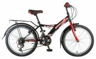 Подростковый горный (MTB) велосипед Novatrack Racer 20 12 (2017)