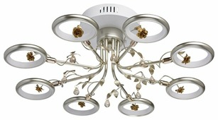 Люстра светодиодная MW-Light Ивонна 459011408, LED, 48 Вт