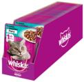 Корм для кошек Whiskas с кроликом, с индейкой (кусочки в соусе)