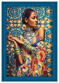 Алмазная живопись Набор алмазной вышивки Обворожительная Иара (АЖ-1553) 40х60 см