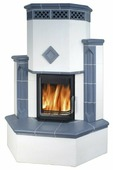 Дровяная печь-камин ABX Westfalia 750