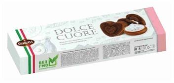 Пирожное Faretti Какао-бисквиты с легкой сливочной начинкой