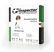 Inspector Ошейник от блох, клещей и гельминтов для средних собак