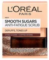 L'Oreal Paris скраб для лица и губ Сахарный бодрящий, 3 натуральных сахара и кофе