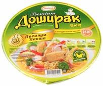 Doshirak Лапша быстрого приготовления Premium со вкусом курицы 140 г