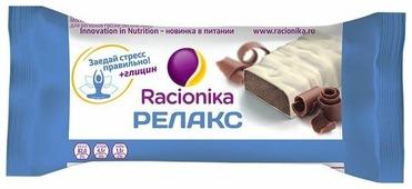 Протеиновый батончик Racionika Релакс в белой шоколадной глазури Шоколад 35 г