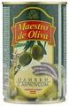 Maestro De Oliva Оливки с анчоусом в рассоле, жестяная банка 300 г