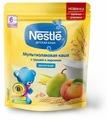 Каша Nestlé молочная мультизлаковая с грушей и персиком (с 6 месяцев) 220 г дойпак