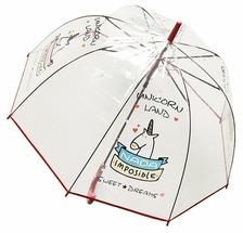 Зонт-трость полуавтомат Эврика Единорог