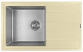 Врезная кухонная мойка FLORENTINA Комби 780 78х48см нержавеющая сталь