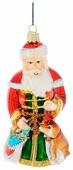 Елочная игрушка Winter Wings Дед Мороз с подарками (N07118)