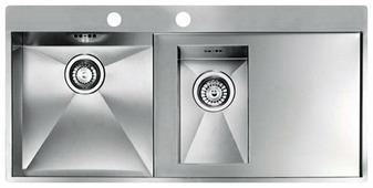 Интегрированная кухонная мойка Reginox Ontario 1.5