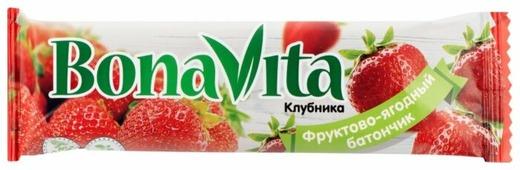 Фруктовый батончик Bona Vita Клубника