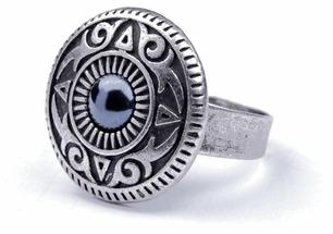 Skifska Etnika Кольцо Тюркский орнамент Динара