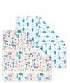 Комплект Сонный Гномик муслин пеленки 117х117 2 шт. + салфетки 40х36 2 шт.